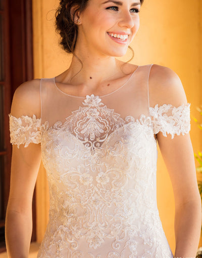 The Lyssa Wedding Gown - Chicago Bridal Store Company