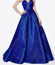 Duke Blue Formal Gown - Chicago Bridal Store Company