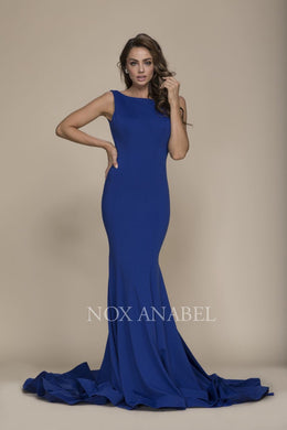 Royal Blue Mermaid 2018 Prom Dress