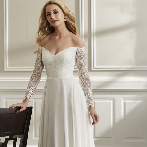 The Autumn Destination Wedding Dress