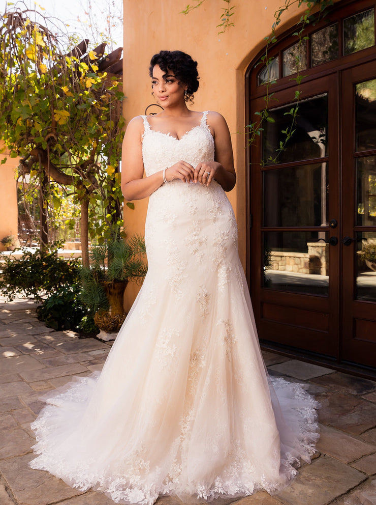 The Celestia Wedding Gown - Chicago Bridal Store Company