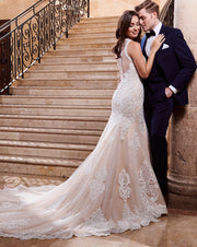 Montgomery Gown- Couture Damour MB4069 - Chicago Bridal Store Company