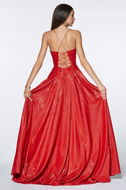 Sizzling Red Formal Gown - Chicago Bridal Store Company
