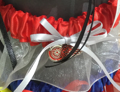 Detroit Red WingsWedding Garter - Chicago Bridal Store Company