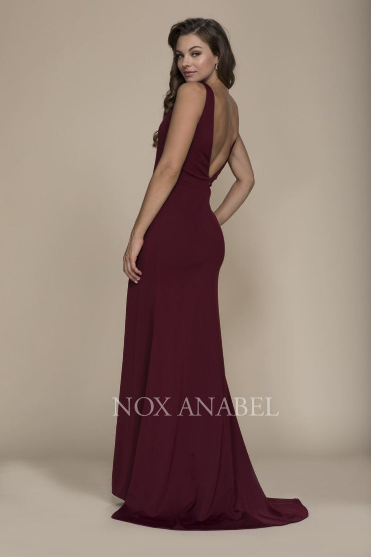 Burgundy 2018 Prom Dress - Chicago Bridal Store Company