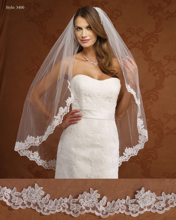 The Bridal Veil Company Style: 3400 - Chicago Bridal Store Company
