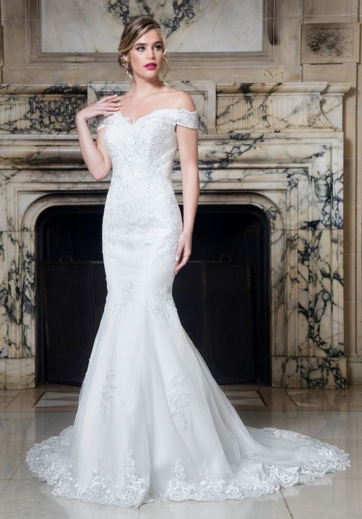 The Chantal Mermaid Wedding Dress - Chicago Bridal Store Company