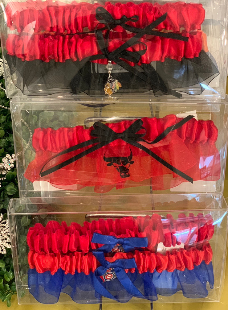 Chicago Bulls Garter - Chicago Bridal Store Company