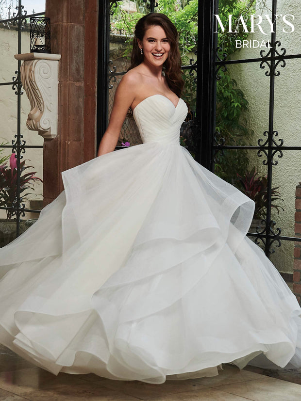 The Florence Princess Tulle Bridal Gown - Chicago Bridal Store Company