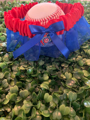 Chicago Cubs Wedding Garter - Chicago Bridal Store Company