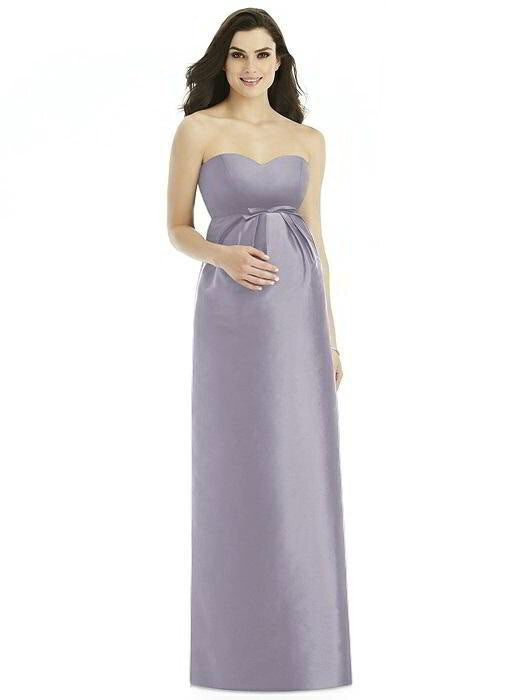 Alfred Sung Maternity Dress M436 - Chicago Bridal Store Company