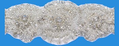 Bling Rhinestone Bridal Belt ~Style Bride-003 - Chicago Bridal Store Company