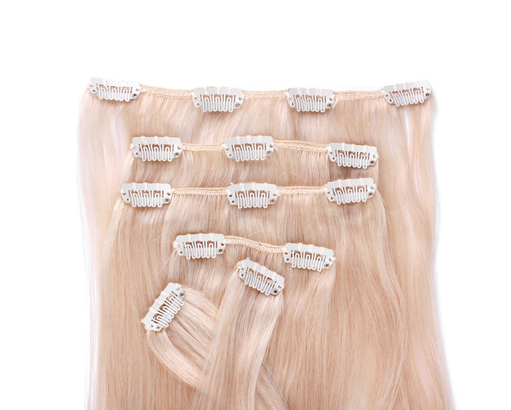 Bliss Blonde Clip In Hair Extensions - Chicago Bridal Store Company