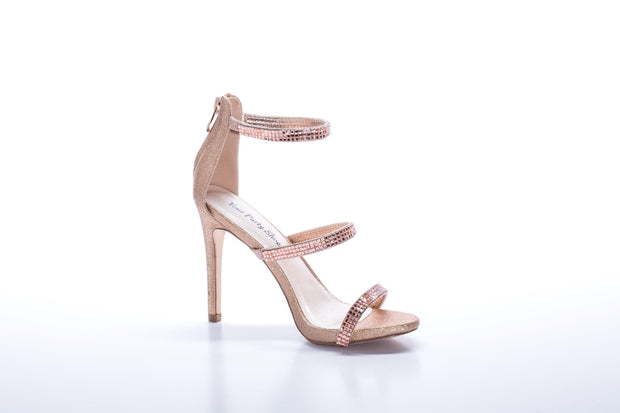 "Jersey ""Shoe"" Rose Gold - Chicago Bridal Store Company"