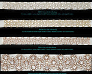 Bling Rhinestone Bridal Belt ~ Style Bride-006 - Chicago Bridal Store Company