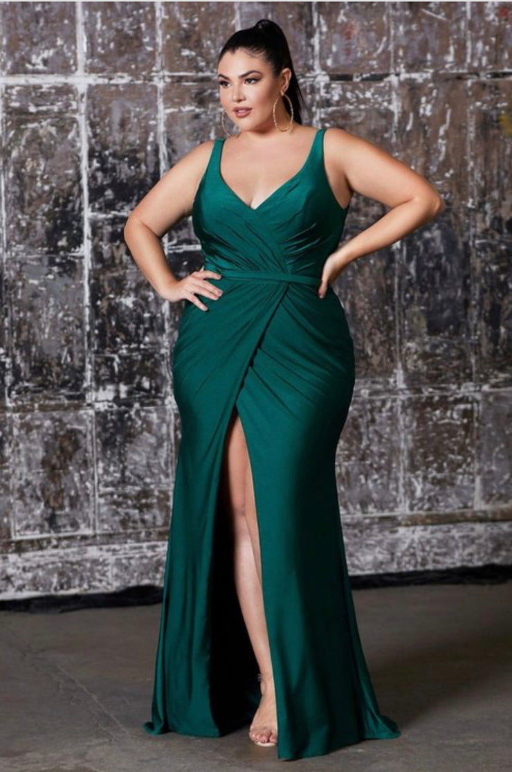 Sasha Gown Emerald Green - Chicago Bridal Store Company