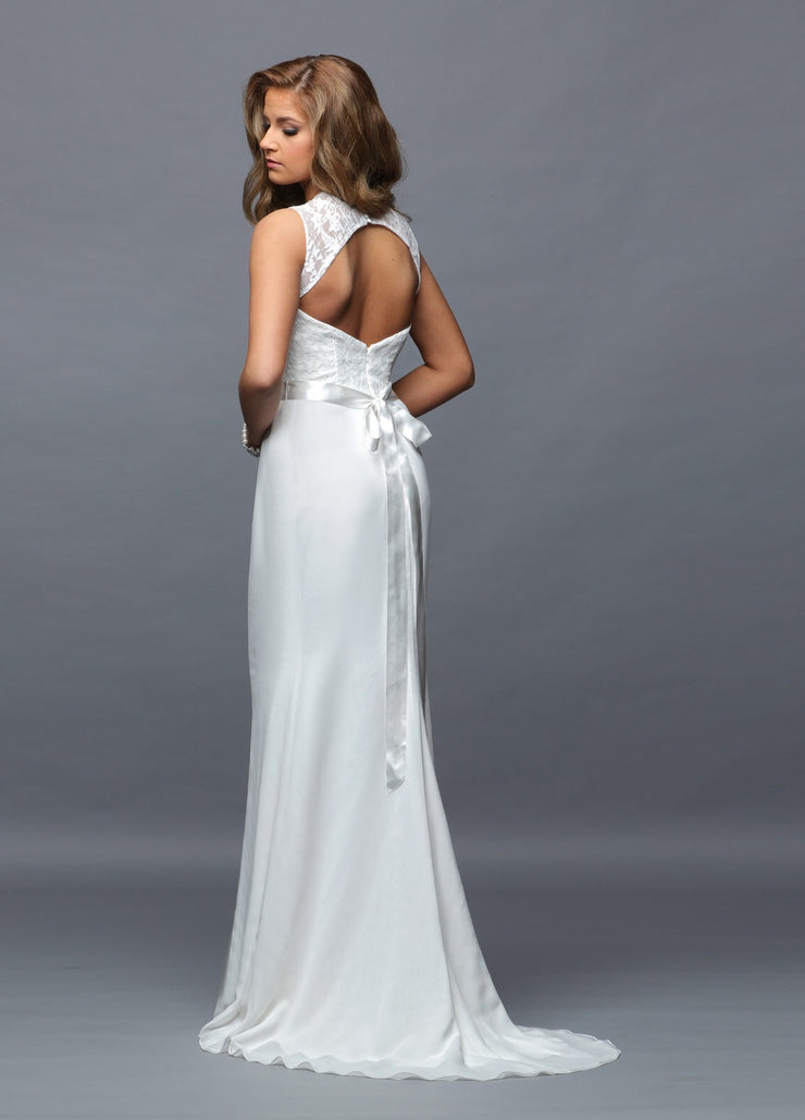 Informal Destination Wedding Gown Style 801 - Chicago Bridal Store Company