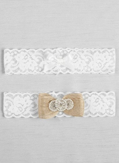 Savannah Bridal Garter Set- White or Ivory ChicagoBridalStore.com - Chicago Bridal Store Company