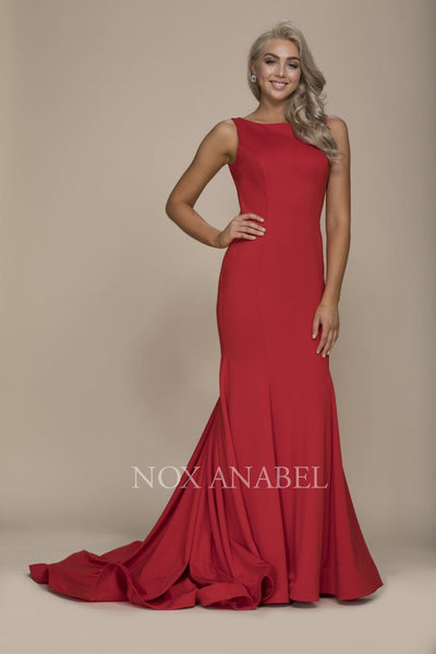 Red Mermaid  Prom Dress - Chicago Bridal Store Company