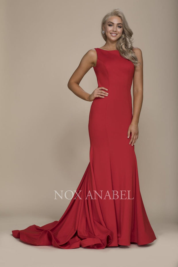 Red Mermaid 2018 Prom Dress - Chicago Bridal Store Company
