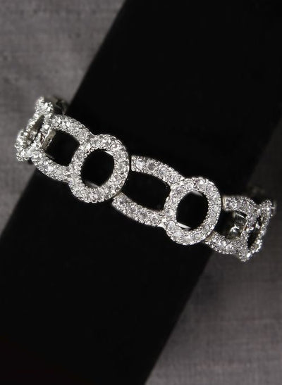 Chain Link Glamour Bracelet - Chicago Bridal Store Company
