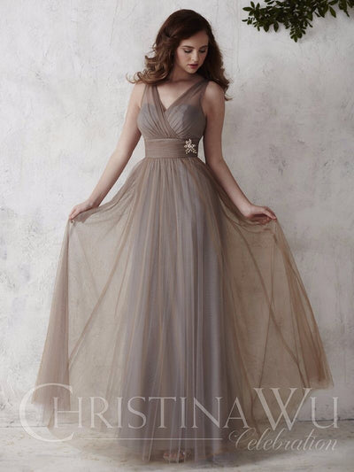 Christina Wu Celebration Bridesmaid Dress 22667 - Chicago Bridal Store Company