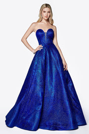 Duke Blue Formal Gown