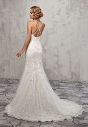 Form Flattering Bridal Gown