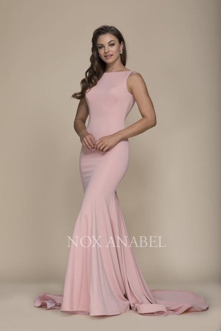 Rose Pink Mermaid  Prom Dress - Chicago Bridal Store Company