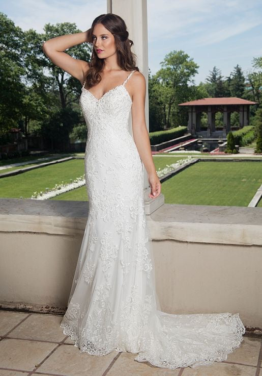 Form Flattering Bridal Gown - Chicago Bridal Store Company