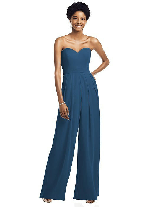 Formal Lux Chiffon Jumpsuit - Chicago Bridal Store Company