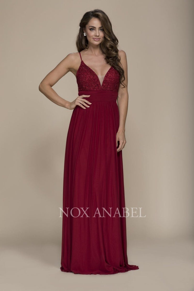 807ef9368087 Burgundy Floor Length Dress Prom Collection - Chicago Bridal Store Company