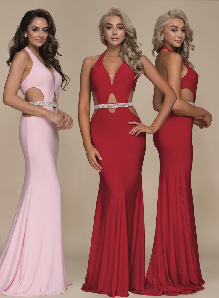 Red Hollywood Glamour Dress - Chicago Bridal Store Company