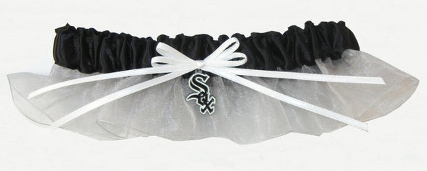 Chicago White Sox Wedding Garter - Chicago Bridal Store Company