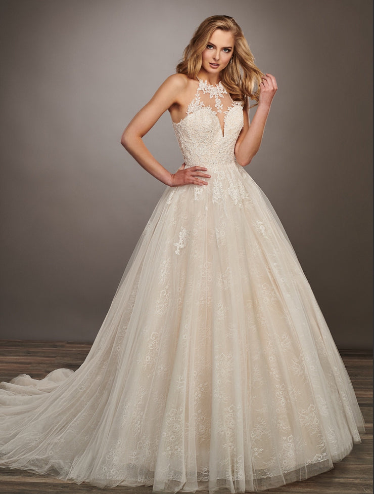 Mackenzie Gown- Couture Damour MB4066 - Chicago Bridal Store Company