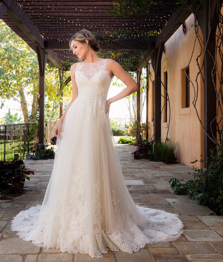 The Agatha Wedding Gown - Chicago Bridal Store Company