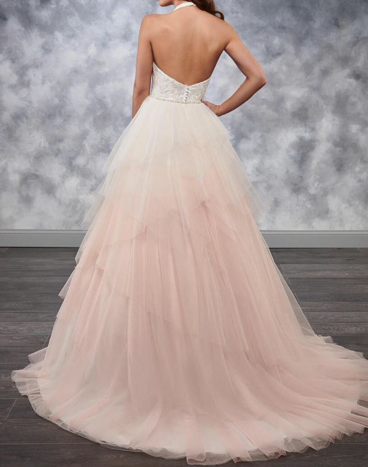 The Arianna Ombré Princess Bridal Gown - Chicago Bridal Store Company