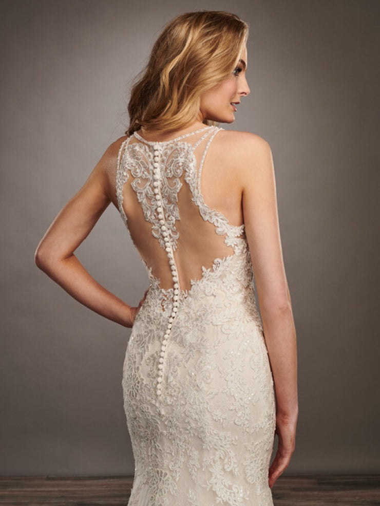 Agatha Gown- Couture Damour MB4063 - Chicago Bridal Store Company