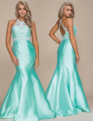 Mint Green Mermaid 2018 Formal Dress