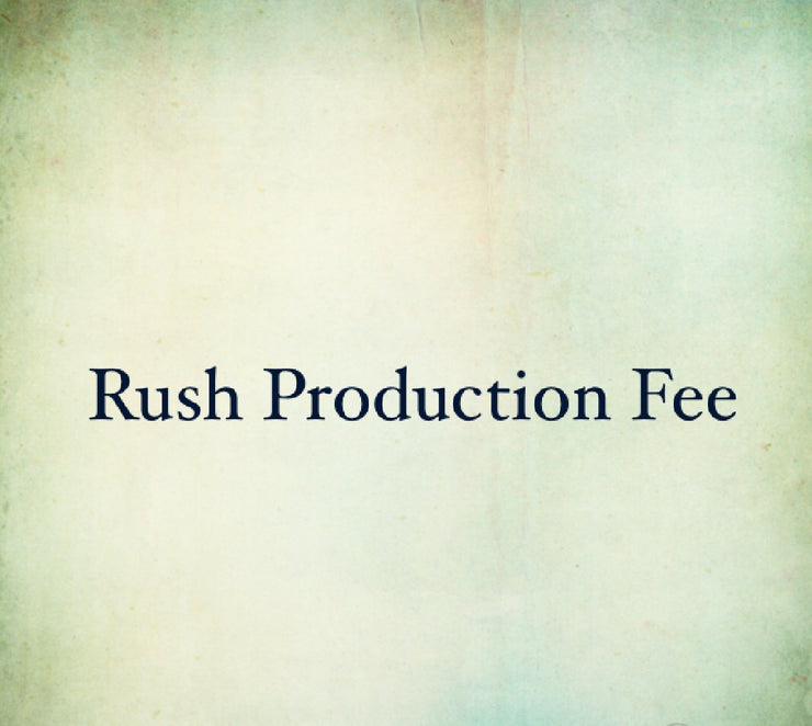 Rush Production Fee - Chicago Bridal Store Company