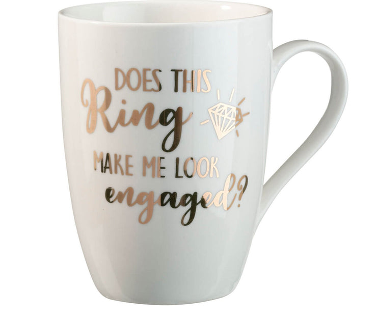 Just Engaged Mug - Chicago Bridal Store Company