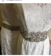 Bling Rhinestone Bridal Belt ~Style Bride-001 - Chicago Bridal Store Company