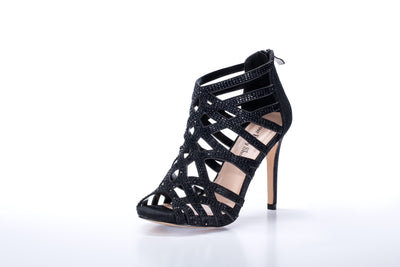 "Pandora ""Shoe"" Black - Chicago Bridal Store Company"