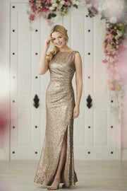 The Amara Sequin Gown - Chicago Bridal Store Company