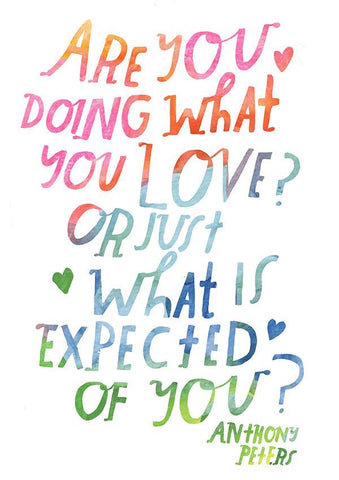 quote illustration by Lisa Congdon