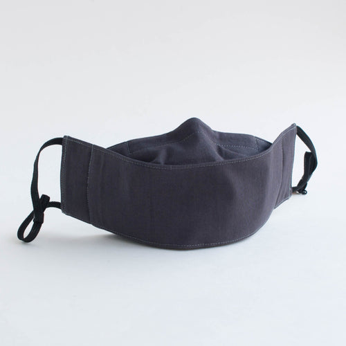 3D face mask - dark grey