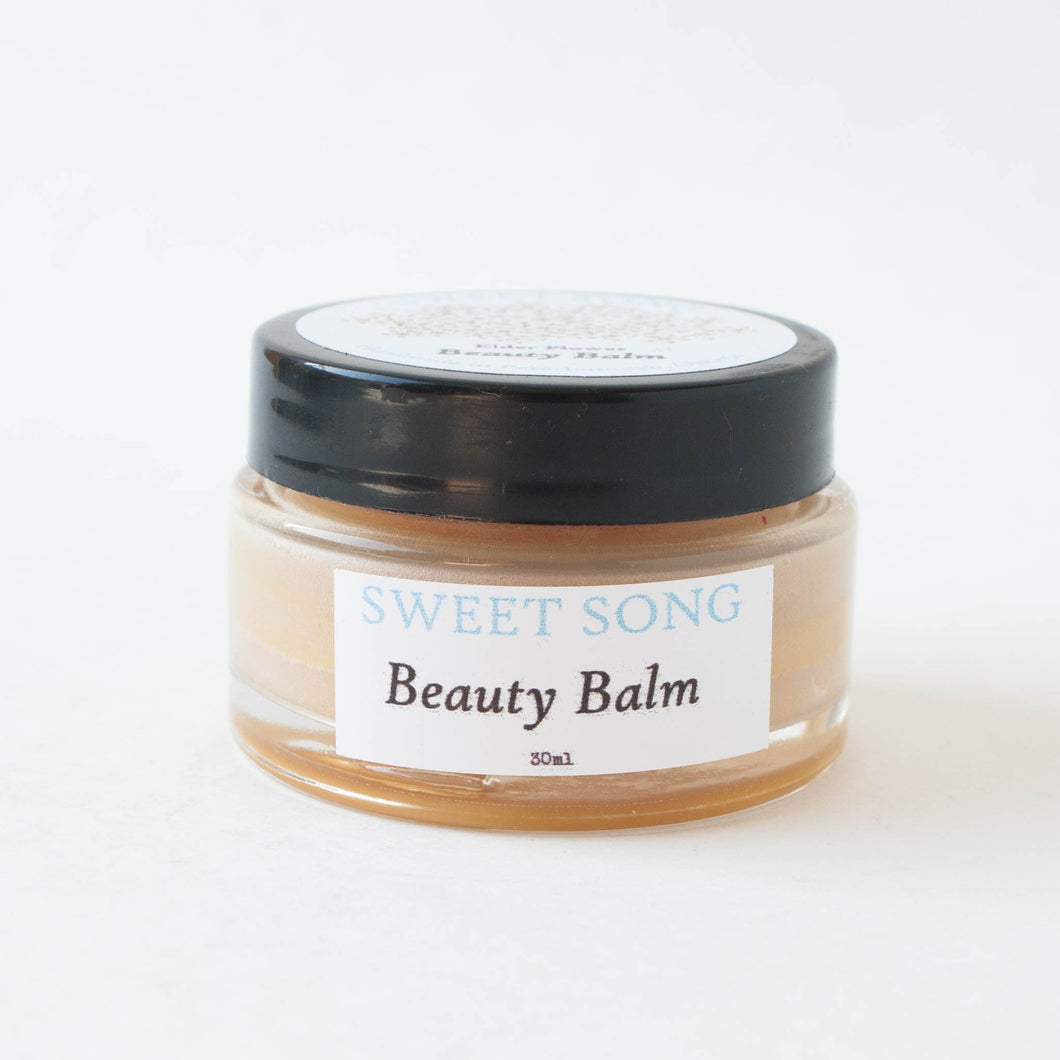 elderflower beauty balm