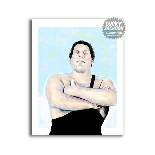 Andre the Giant 8x10 print