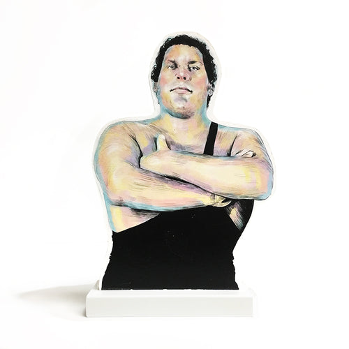 André the Giant standee