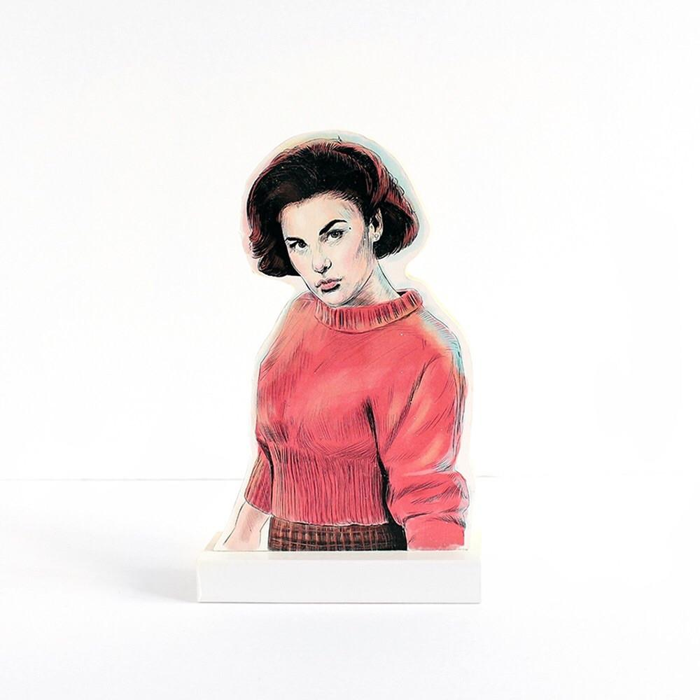 Audrey Horne cultural standee